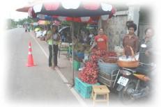 ขายผลไม้